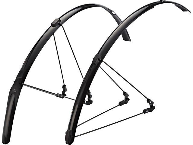 Zefal Shield R30 Juego de guardabarros, black